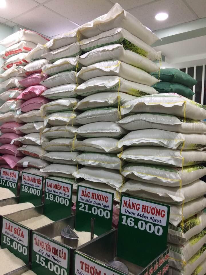 tư vấn mở đại lý gạo