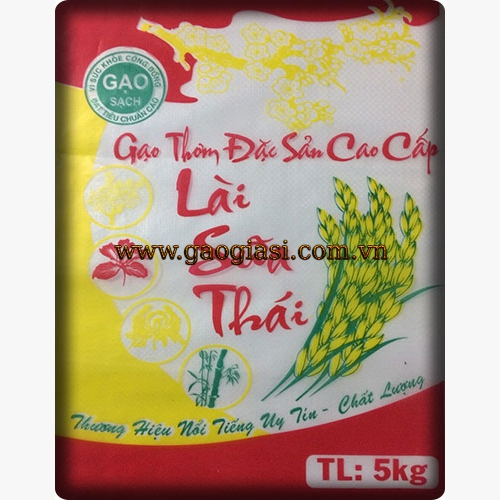 Gạo Lài Sữa Thái